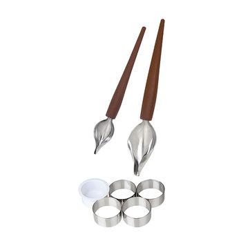 Küchenprofi - zestaw do dekorowania - 7 elementów