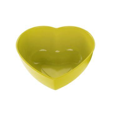 Koziol - Herz No.3 - miska-serce - wymiary: 22,1 x 19,4 cm