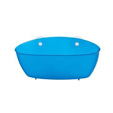 Koziol - Splash - półka-pojemnik - wymiary: 27,5 x 13 cm