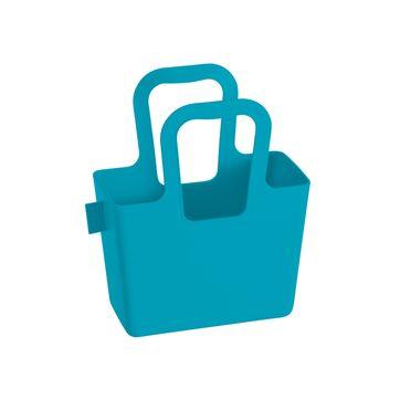 Koziol - Taschelini - pojemnik-torba - wymiary: 16,1 x 18,3 x 7,8 cm