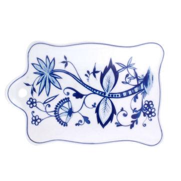Kahla - Rossella Zwiebelmuster - półmisek śniadaniowy - wymiary: 24 x 16 cm