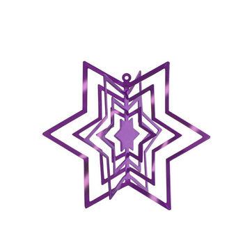 Philippi - Star - zawieszka gwiazdka - wysokość: 10 cm