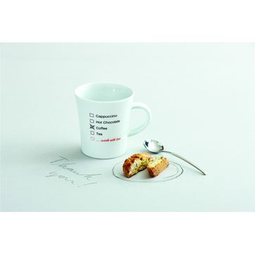 Kahla - Notes Cup of Love - kubek - pojemność: 0,3 l