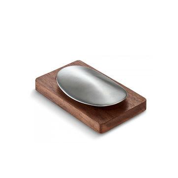 Philippi - Savon - stalowe mydełko do usuwania zapachów - wymiary: 10 x 6 cm