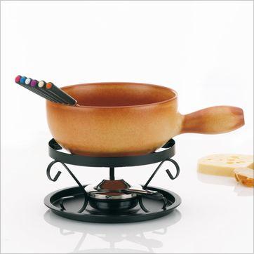 Kela - Tessin - zestaw do fondue serowego - dla 6 osób
