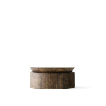 Menu - Wooden Bowl - pojemniki - wymiary: 22 x 12 cm