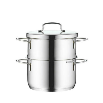 WMF - Mini - garnek z wkładem do gotowania na parze - średnica: 16 cm; pojemność: 1,5 l
