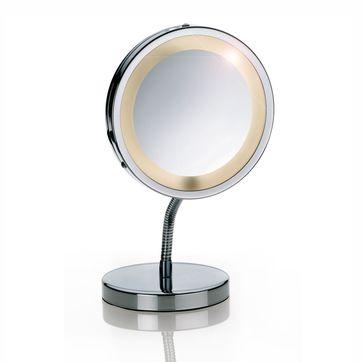 Kela - Lola - lustro z podświetleniem - średnica: 15 cm