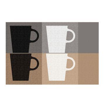 Kela - Cups - podkładka na stół - wymiary: 43,5 x 28,5 cm