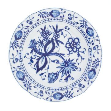 Kahla - Rossella Zwiebelmuster - talerz obiadowy - średnica: 23,5 cm