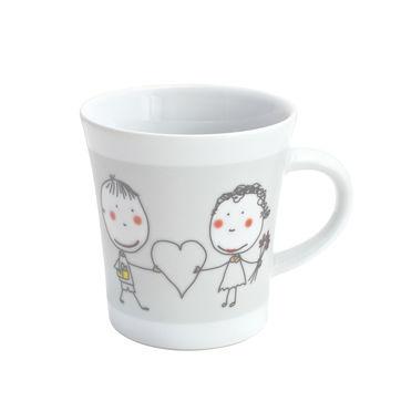 Kahla - Notes - kubek Cup of Love - pojemność: 0,3 l