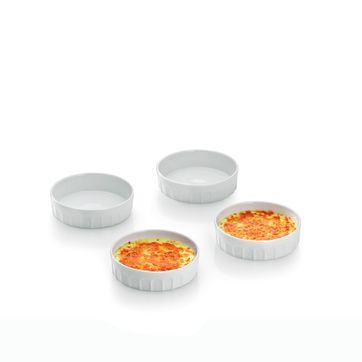 Kela - Maleen - 4 naczynia do zapiekania - średnica: 12 cm