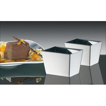 Küchenprofi - 2 foremki do deserów i dekoracji - wymiary: 6 x 4,5 x 4,5 cm