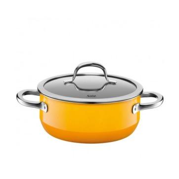 Silit - Passion Yellow - garnek niski - średnica: 20 cm; pojemność: 2,4 l