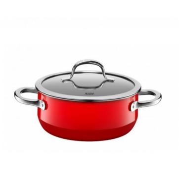 Silit - Passion Red - garnek niski - średnica: 20 cm; pojemność: 2,4 l