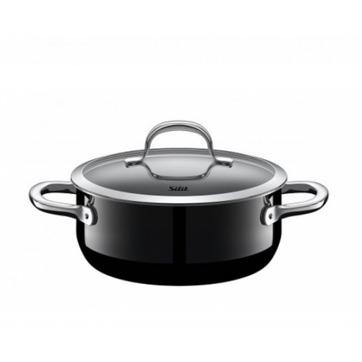 Silit - Passion Black - garnek niski - średnica: 20 cm; pojemność: 2,4 l