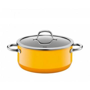 Silit - Passion Yellow - garnek niski - średnica: 24 cm; pojemność: 4,4 l