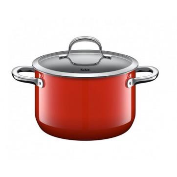 Silit - Passion Red - średni garnek - średnica: 20 cm; pojemność: 3,7 l