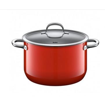 Silit - Passion Red - duży garnek - średnica: 24 cm; pojemność: 6,4 l