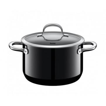 Silit - Passion Black - średni garnek - średnica: 20 cm; pojemność: 3,7 l
