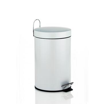 Kela - Linda - łazienkowy kosz na śmieci - pojemność: 3 l; wysokość: 26 cm