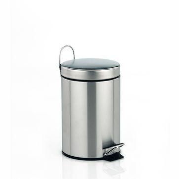 Kela - Torre - łazienkowy kosz na śmieci - pojemność: 3 l; wysokość: 26 cm
