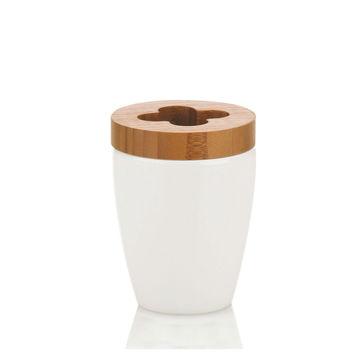 Kela - Natura - stojak na szczoteczki do zębów - wysokość: 10,5 cm
