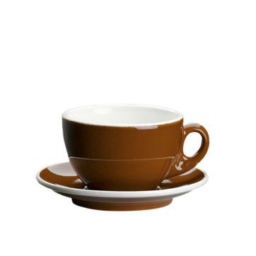 Cilio - Roma - filiżanki do kawy z mlekiem ze spodkami - pojemność: 0,2 l