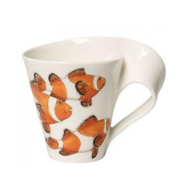 Villeroy & Boch - New Wave Caffe Clownfish - kubek w opakowaniu prezentowym - pojemność: 0,3 l