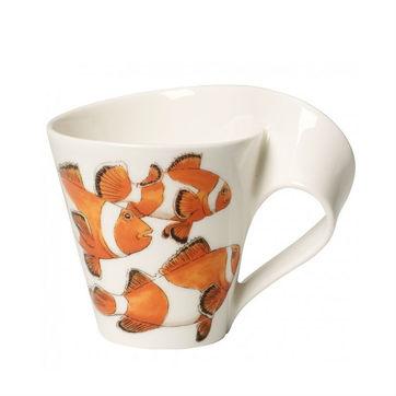 Villeroy & Boch - New Wave Caffe Clownfish - kubek - pojemność: 0,25 l