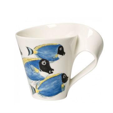 Villeroy & Boch - New Wave Caffe Surgeonfish - kubek w opakowaniu prezentowym - pojemność: 0,3 l