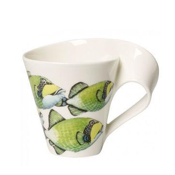 Villeroy & Boch - New Wave Caffe Triggerfish - kubek w opakowaniu prezentowym - pojemność: 0,3 l