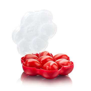 Tomorrow's Kitchen - pojemnik na pomidorki koktajlowe - wymiary: 19,8 x 14,9 cm