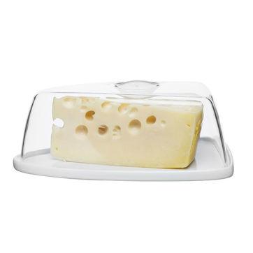 Sagaform - Kitchen - pojemnik na ser - wymiary: 25 x 16,5 x 10 cm