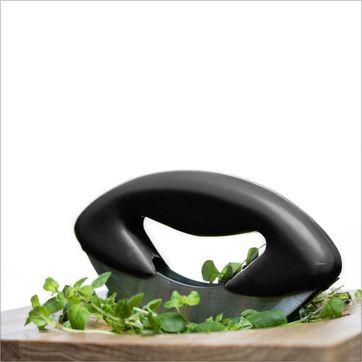 Sagaform - Kitchen - nóż i deska do siekania ziół - wymiary: 20 x 20 cm