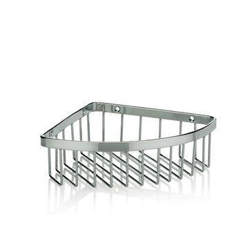 Kela - Galant - narożna półka-koszyk - wymiary: 19,5 x 14,5 x 5,5 cm
