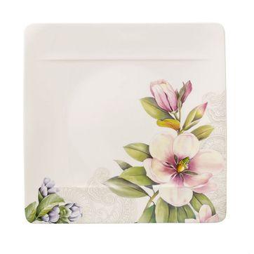 Villeroy & Boch - Quinsai Garden - talerz płaski - wymiary: 27 x 27 cm