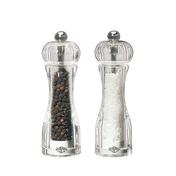 Küchenprofi - Toronto - zestaw młynków do soli i pieprzu - wysokość: 13,8 cm