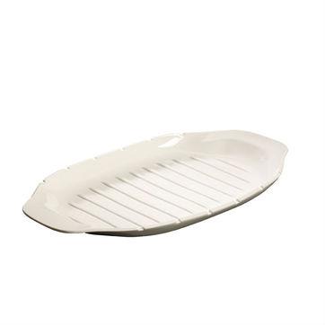 Villeroy & Boch - BBQ Passion - półmisek na szaszłyki - wymiary: 42 x 22 cm
