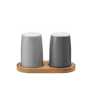 Stelton - Emma - solniczka i pieprzniczka - wysokość: 7,8 cm