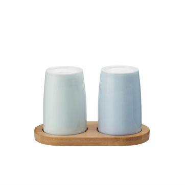 Stelton - Emma - solniczka i pieprzniczka - wysokość: 12,6 cm