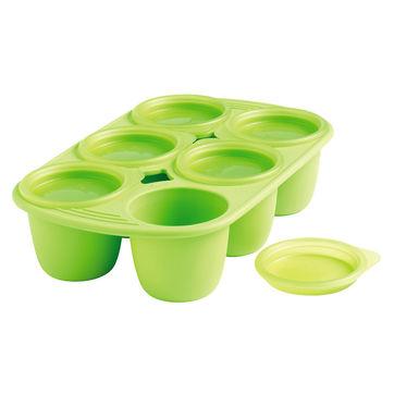 Mastrad - forma na jedzenie dla niemowląt - pojemność: 6 x 150 ml