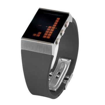 Lexon - e8 - zegarek elektroniczny - czerwony wyświetlacz