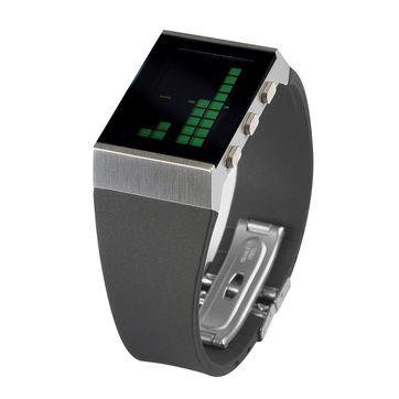 Lexon - e8 - zegarek elektroniczny - zielony wyświetlacz