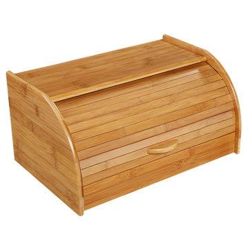 Zassenhaus - bambusowy chlebak - wymiary: 40 x 26 x 20 cm