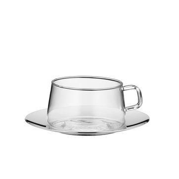 WMF - Tea Time - filiżanka do herbaty ze spodkiem - pojemność: 0,2 l