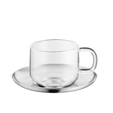 WMF - SensiTea - filiżanka do herbaty ze spodkiem - pojemność: 0,25 l