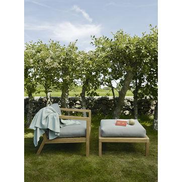 Skagerak - Virkelyst - puf ogrodowy - wymiary: 75 x 70 x 42 cm