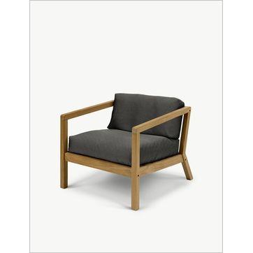 Skagerak - Virkelyst - fotel ogrodowy - wymiary: 75 x 83 x 65 cm