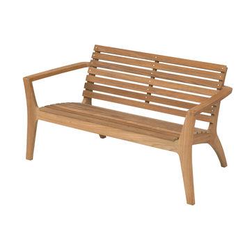 Skagerak - Regatta - ławka ogrodowa - wymiary: 133 x 72 x 73,5 cm